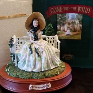 Gone with the wind musical figurine